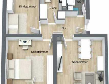 Erstbezug nach Komplettsanierung - Helle 3 Zimmer Wohnung Nähe Fasangarten