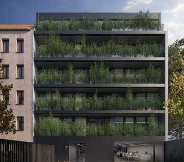 Sonnige Wohnung in Architektenhaus, Neubau
