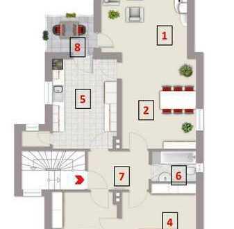 Große 3 Zimmerwohnung mit Balkon und Kaminofen ab dem 01.04.2020 frei