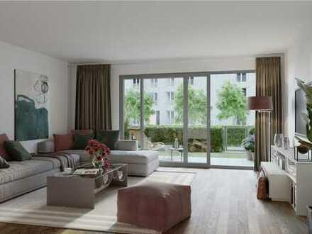 PANDION 5 FREUNDE - Gut geschnittene 3-Zimmer-Gartenwohnung mit großer Terrasse