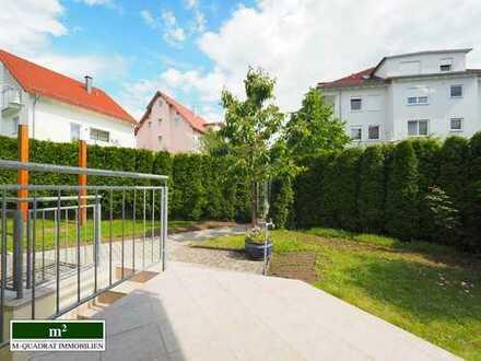 ***Charmante Maisonette Wohnung mit Balkon Dachloggia Schöner Garten mit Garage und Stellplatz***