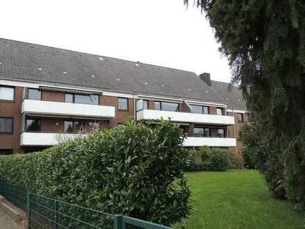 Meiendorf - Gut geschnittene 3 ZW mit Balkon