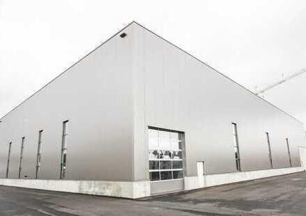 Neubau-Halle mit Büro in Nähe Ingolstadt