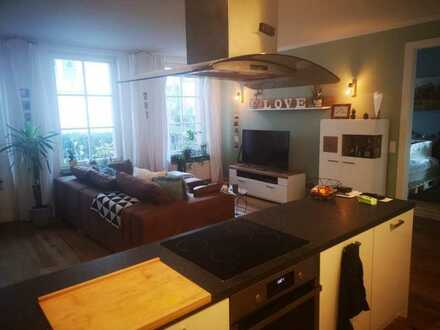 Vollständig renovierte 3-Zimmer-Wohnung mit Einbauküche in Bodenheim
