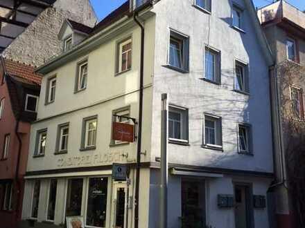 Geislingen / Steige, 5 Zimmer Wohnung über 2 Etagen, in historischen Haus (renoviert) WG geeignet