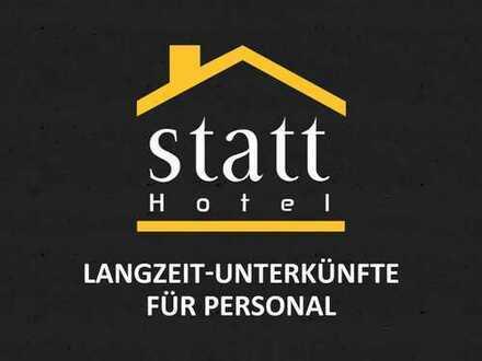 HOTEL-Alternative: LANGZEIT-Unterkünfte für PERSONAL: Betten frei.