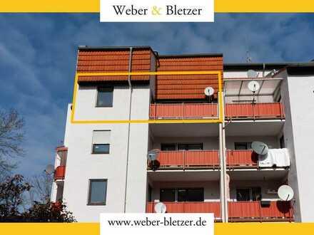 Zentrumsnahe Dreizimmerwohnung in Erbach