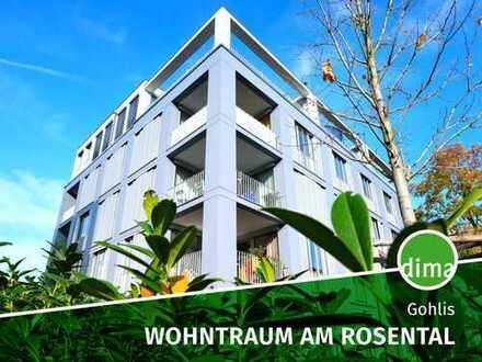 Moderner Wohntraum am Rosental mit Einbauküche, Gartenanteil und Tiefgarage