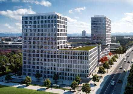 Neubau mit Alpenblick/Bürofläche über den Dächern von Neuhausen