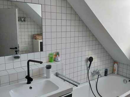 3-Zimmer Wohnung mit 2 Balkonen und Tageslichtbad im DG