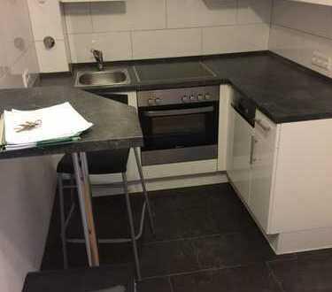 Exklusive, neuwertige 3-Zimmer-DG-Wohnung mit Einbauküche in Düsseldorf