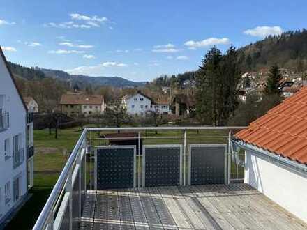 Exklusive 2,5 -Zi-DG-Wohnung mit Balkon, Einbauküche und großzügigem Grundriss