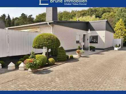 BRUNE IMMOBILIEN - Bremerhaven-Leherheide: Romantisches Fleckchen am Waldrand