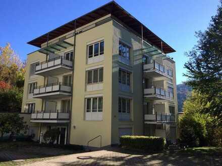 Moderne 1 ZKD-Wohnung mit EBK, Lift in TOP Lage in Bad Herrenalb, 49qm + Terrasse, € 365,- + NK/HZ