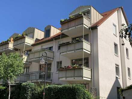 1-Zimmerwohnung - Südwest Balkon - nah zur TU-Dresden