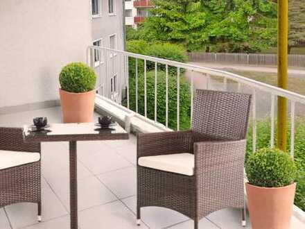Oberursel: Ihr neuer Lebensraum - reizvolle 2 Zi. Wohnung mit 2 herrlichen Balkons und neuem Parkett