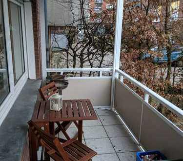 Gepflegte 2-Zimmer-EG-Wohnung mit Balkon und EBK in Münster-Centrum