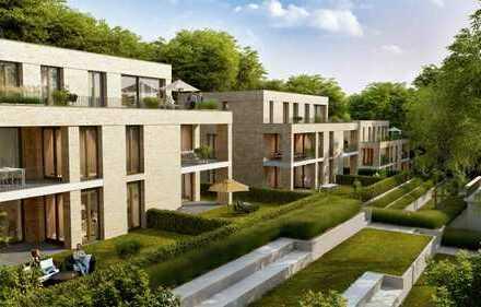 Sonnige 3 Zimmer-Gartenwohnung großer Loggia im Quartier Wilhelmshöhe