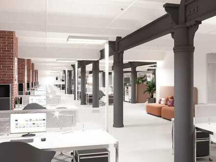 Büroloft mit Elbblick und Terrasse
