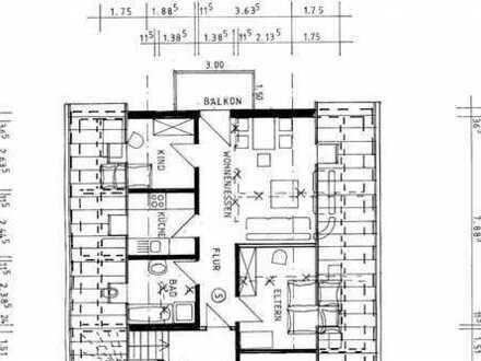 3 Zimmer Dachgeschoßwohnung mit Balkon