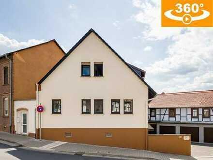 2FH (229 m² Wfl.) und vier Garagenstellplätze im historischen Ortskern von Windecken