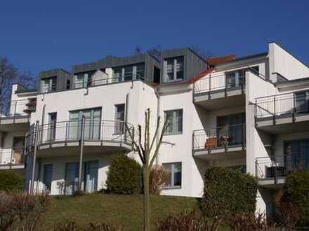 Stilvolle Atelierwohnung in Zinnowitz mit herrlichem Blick aufs Achterwasser von 2 Süd-Dachterrassen