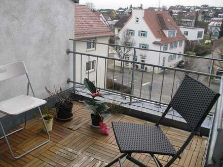 Schöne 2er WG ab April oder Mai mit Dachbalkon in Ulm-Erbach