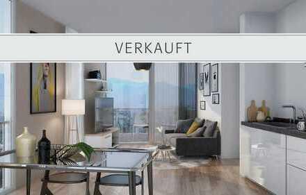 """2-Zi.-""""Penthouse""""-Wohnung mit beeindruckender Aussicht"""