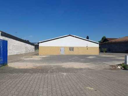 ***PROVISIONSFREI*** Ingelheim Nord - Gewerbegebiet: Halle mit Betriebswohnung