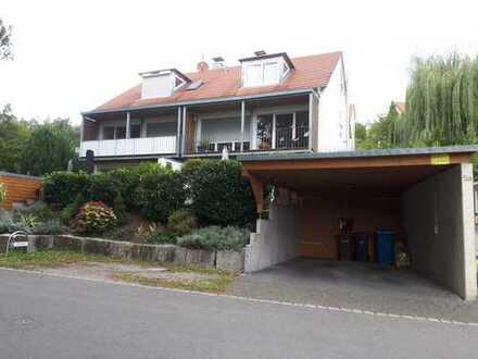 Doppelhaus mit Teilseesicht in Konstanz (Kreis), Gaienhofen