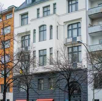 City West! großes Dachgeschoss Büro im repräsentativen Altbau parallel zum Kudamm/ Fasanenstr.
