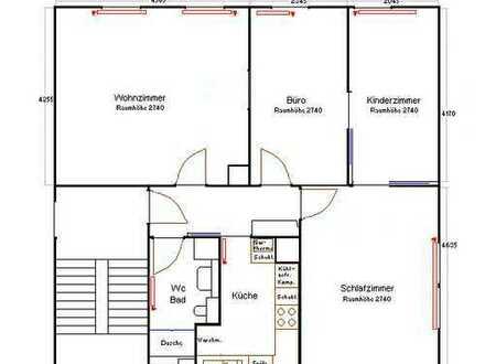 Vollständig renovierte 4-Zimmer-Wohnung mit Einbauküche in Stuttgart - Botnang