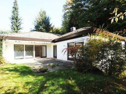 FR-Günterstal: Villa mit Einliegerwohnung und Waldzugang
