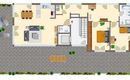 *** Außergewöhnliches 3 Zi.-Penthouse mit EBK und Großer Dachterrasse mit 106m² in Vaihingen***