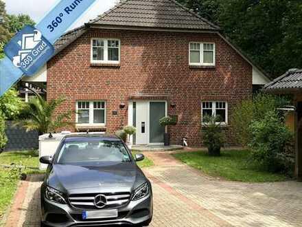 Großzügiges und modernes 5 Zimmer Einfamilienhaus direkt am Naturschutzgebiet von Hamburg Sasel