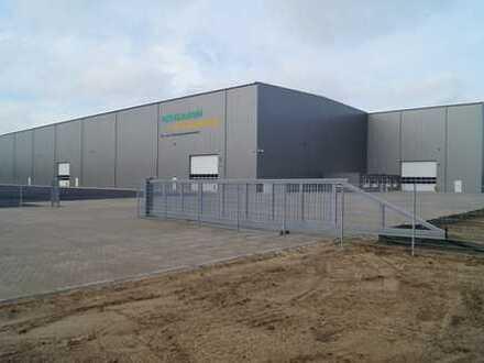 Hochwertige Lagerflächen in Schwerguthalle / Freilager