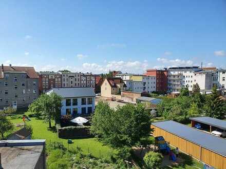 NUR NOCH 1 FREI: Alle Wünsche vereint - Erstbezug - 4-Zimmer-Wohnung in Fleischervorstadt