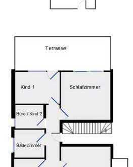 Schöne, geräumige vier Zimmer Wohnung m. Terasse, Balkon, Stellplatz u. Extra in Solingen Wald