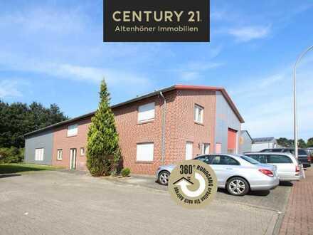 Moderne Produktions-/Lagerhalle mit gr. Bürofläche und PV Anlage!