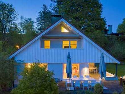 Wohlfühlhaus mit viel Privatsphäre und sonnigem Garten in idyllischer Lage