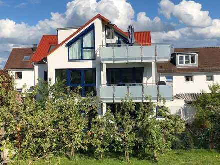 Neuwertige exklusive sonnige 4-Zi-Whg in Köngen mit EBK und großem Balkon in Energiesparhaus En55