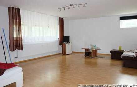 Büchenau: Helle Wohnung direkt am See, gut vermietet