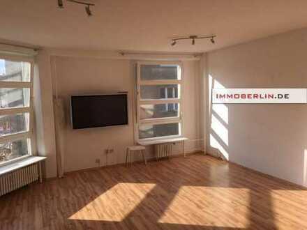 IMMOBERLIN: Nahe Ludolfinger Platz! Helle, vermietete Wohnung