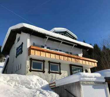 Grosszügig - 4 - Zimmer - Wohnung mit herrlichem Blick über Oberstaufen