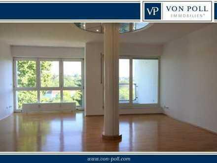 Wohnen wie im Haus! Helle 5-Zimmer-Wohnung mit Fernblick in Mainz-Finthen