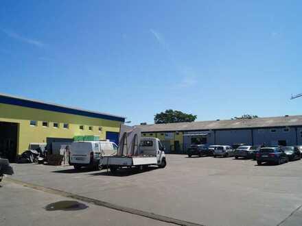 Attraktives Gewerbegrundstück / Gewerbehallen in Ludwigshafen Niederfeld