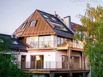 Das Penthouse de Luxe in Alt-Bogenhausen, Wohnen und Leben auf aller höchstem Niveau