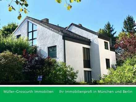 Außergewöhnliche Maisonette-Wohnung mit viel Grün!