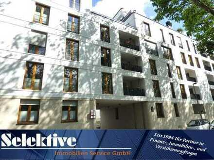 Duisburg Duissern - Moderne barrierefreie Hochparterre-Wohnung mit Loggia in gepflegtem Neubau !