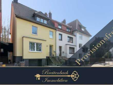Bremen - Sebaldsbrück • Exklusives Reihenendhaus mit Sonnenloggia und schönem Garten